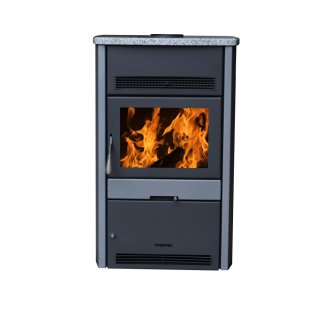 Warmluft Tropic Kaminofen 8kW mit Ventilator Exclusiv
