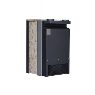 Warmluft Tropic Kaminofen 20kW mit Ventilator